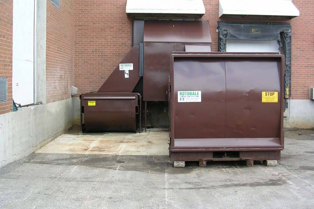 RC Series Self Contained Trash Compactors by Rotobale