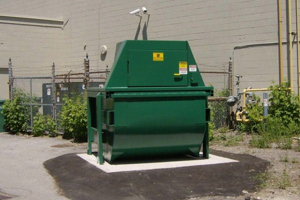 Vertical Compactor from Rotobale Compaction